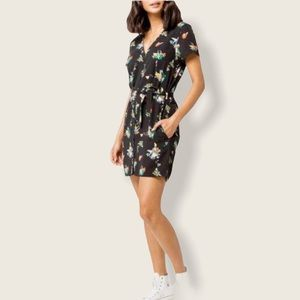 RVCA Floral Belted Dress